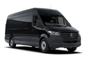 Mercedes Mini-Bus in black color