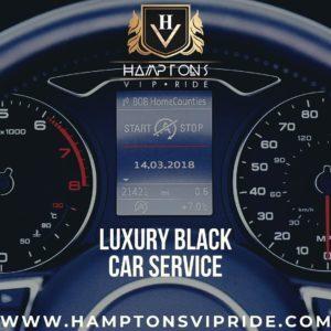 Hamptons VIP Ride Luxury Black Car Service